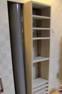 壁紙,再利用,ニッチ,作り方,ハウツー,簡単,DIY