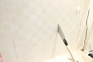 壁,石膏ボード,のこぎり,切り抜く,方法,ニッチ作成