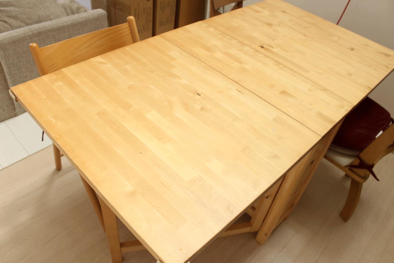 ダイニングテーブル,バタフライ,簡単,人気,大人数,伸張,イケア