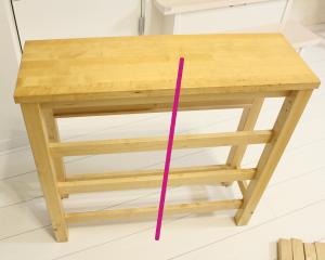 IKEA,イケア,バタフライテーブル,リメイク,DIY,ダイニングテーブル,チェスト,変身,解体