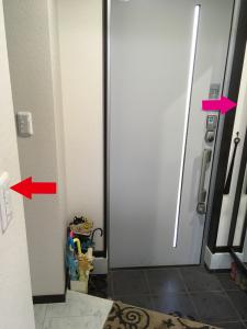 玄関,失敗,例,電気,3路スイッチ,注文住宅,失敗談