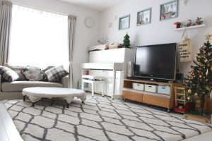 リビング,ホットカーペット,暖かい,部屋全体,節電,冬を暖かく