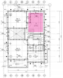 ホール,リフォーム,書斎,仕切る,壁,作る