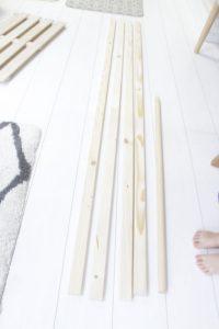 島忠,木材,ハンガーラック,DIY,自分で作る,日曜大工