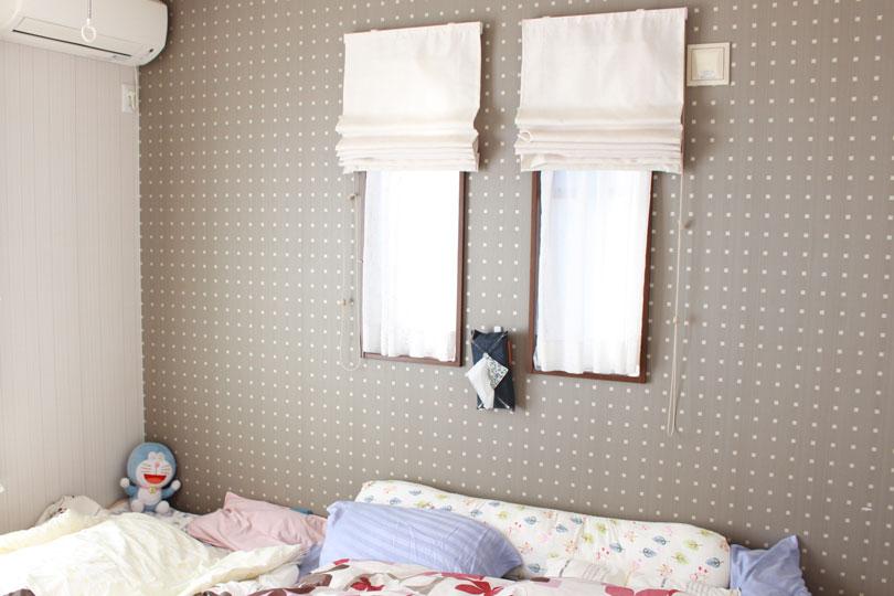 ベッド,寝室,窓,冷気,遮断,方法,おすすめ