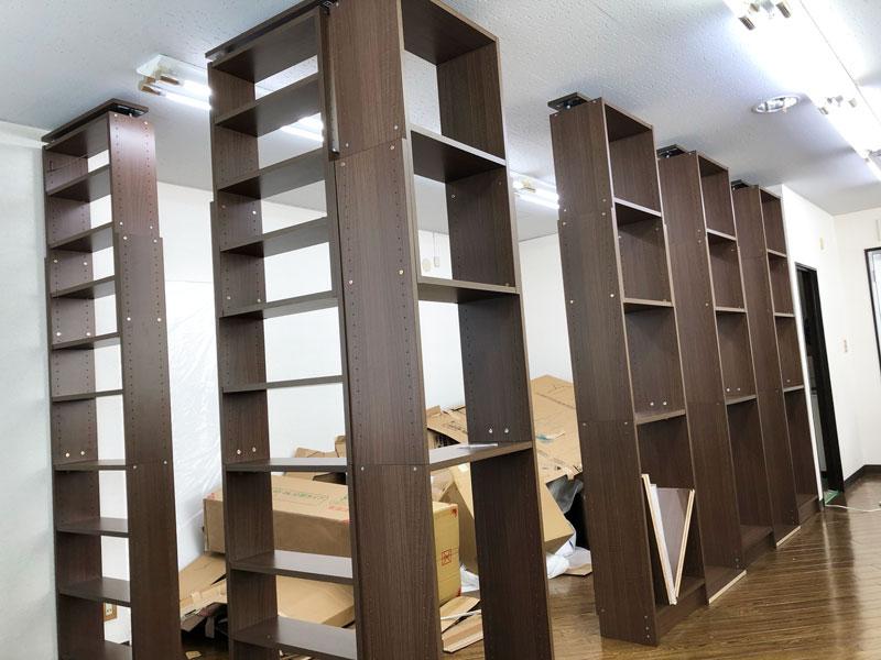 DIY,壁,自分で,簡単,方法,部屋,仕切る,子供部屋,本棚