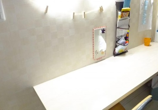 【DIY】おしゃれに省スペース!ティッシュが壁と一体化?